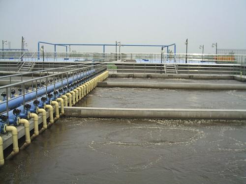 宜春市污水处理厂污水处理现场